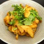 インドの定番!じゃがいもとカリフラワーのスパイス炒め煮【アルゴビ】