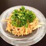 ミャンマーのしゃきしゃきタケノコサラダ♪【ミチントゥ】
