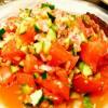 夏野菜でインドのスパイシーサラダ【カチュンバル】
