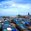 【世界一周14日目:インド】カニャークマリ2日目 ボートで離島へGo!