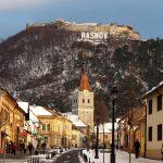 【世界一周140-141日目:ルーマニア】ブラショフ 中世の街並とクリスマス♪